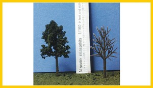 D-178-100 Deciduous Armatures 1  7/8 Inches Tall
