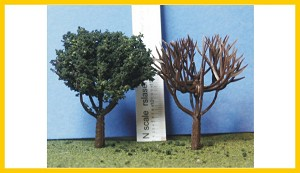 D-200-100 Deciduous Armatures 2.0 Inches Tall